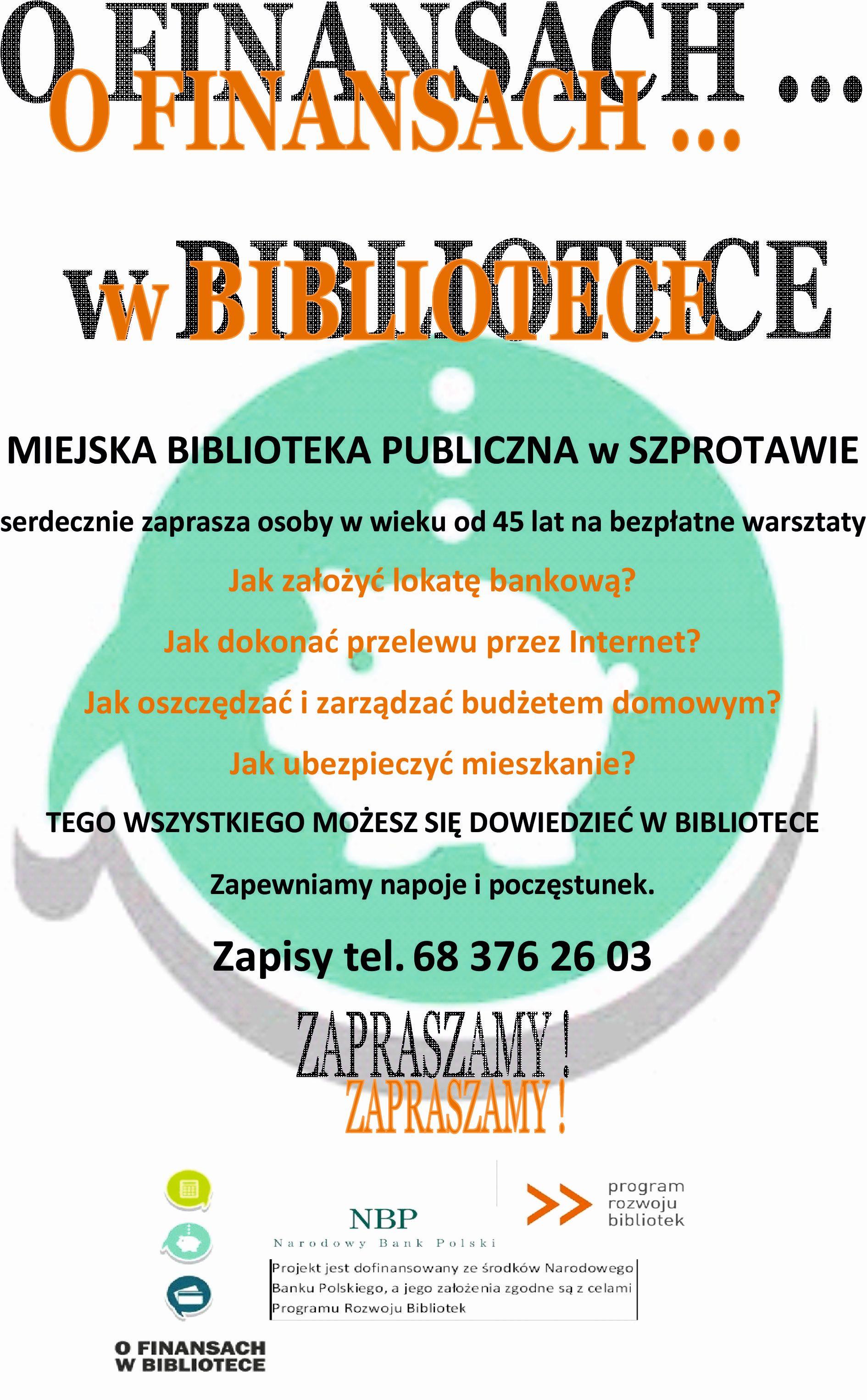 Ilustracja do informacji: Biblioteka Miejska zaprasza na bezpłatne warsztaty